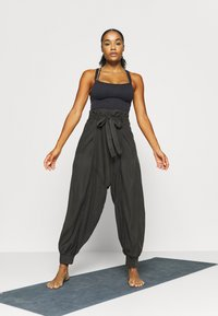 Free People - WADE AWAY HAREM - Pantalones - black - 1