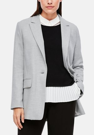 Short coat - soft grey melange