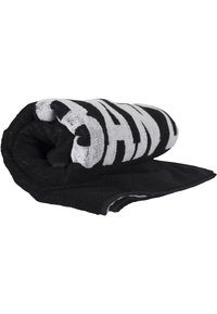 Urban Classics - 2-TONE - Beach towel - black/white - 3
