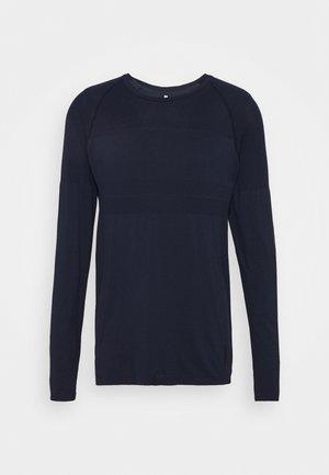 JCOZLS SEAMLESS TEE - Langærmede T-shirts - navy blazer