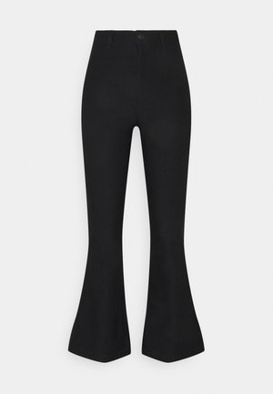 VMAUGUSTA FLARE SOLID PANT - Trousers - black