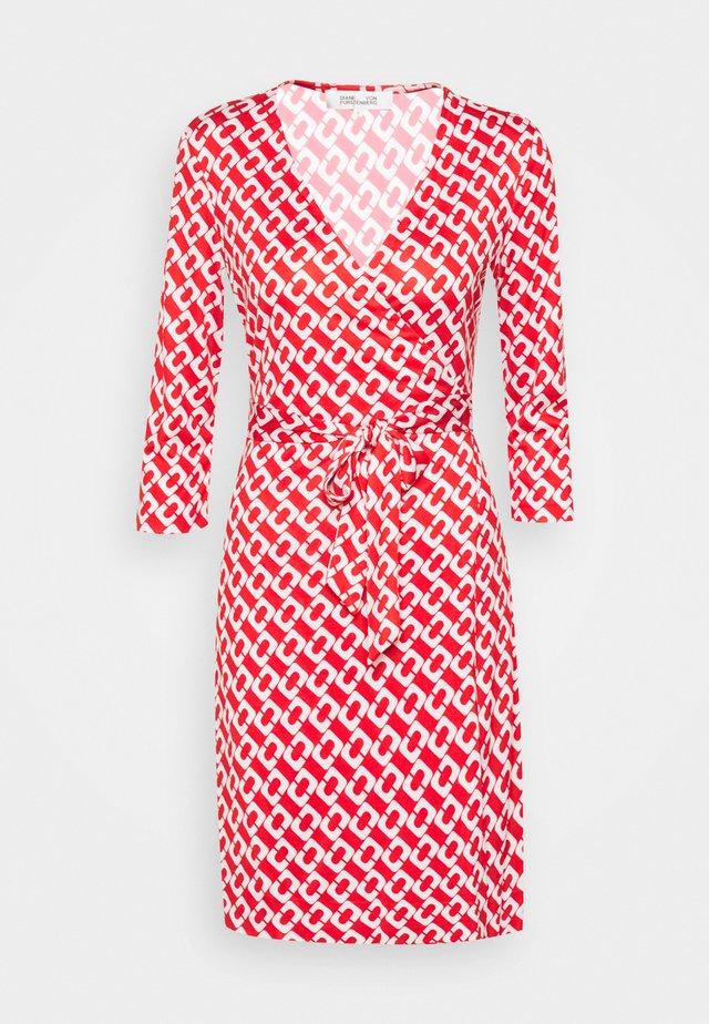 NEW JULIAN TWO - Jersey dress - red