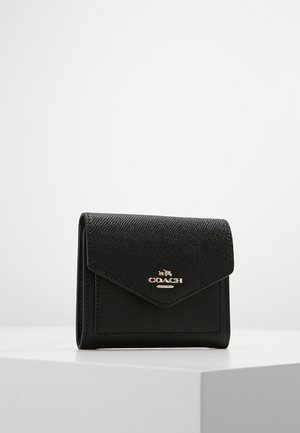 CROSSGRAIN LEATHER SMALL WALLET - Portfel - black