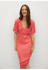 Mango - SPRING-H - Day dress - pink - 0