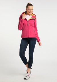 Schmuddelwedda - Outdoor jacket - dark pink - 1