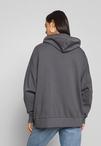 Nly by Nelly - CHUNKY ZIP HOODIE - Zip-up hoodie - offblack - 2