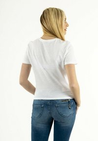 ONLY - Print T-shirt - blanc - 2