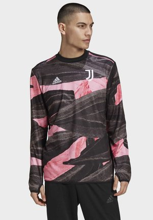 JUVENTUS PRE-MATCH SWEATSHIRT - Long sleeved top - black
