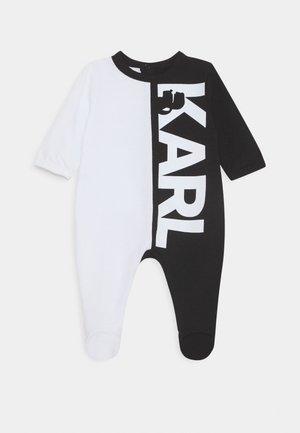 UNISEX - Pyjamas - white/black