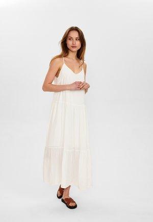 Maxi dress - bright white