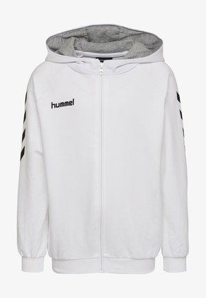 HMLGO - Zip-up hoodie - white