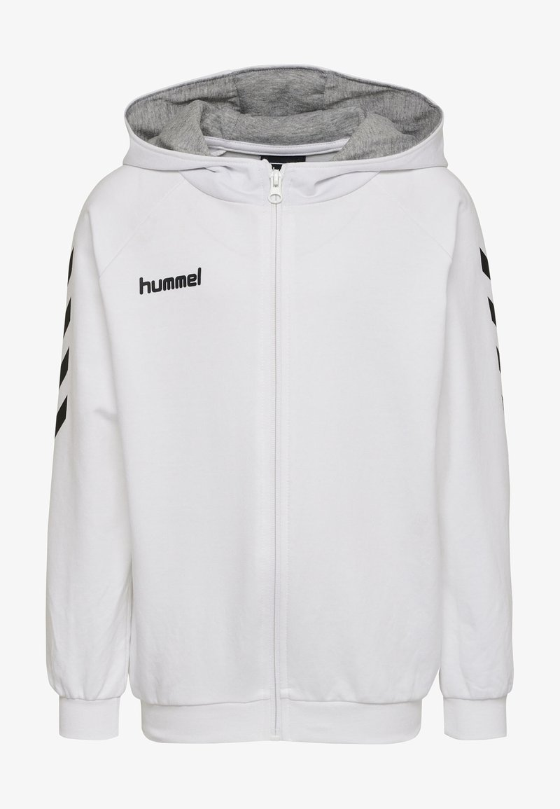 Hummel - HMLGO - Zip-up hoodie - white