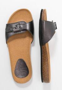 Scholl - BAHAMAIS - Slippers - noir - 3