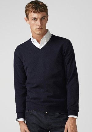 CASHMERE - Jumper - dark blue