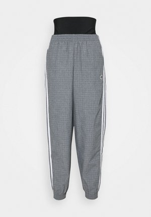 TRACKPANTS - Tracksuit bottoms - black/white