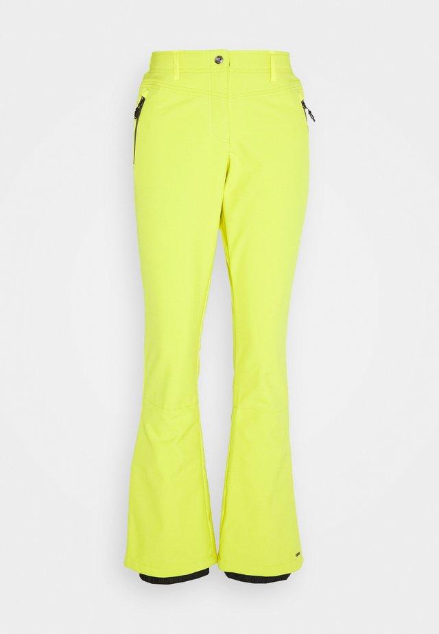 JILIA - Pantalon de ski - gelb