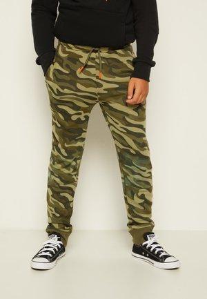 CAMO KNEE PATCH - Teplákové kalhoty - multi-coloured