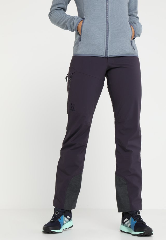 TOURING PROOF PANT - Outdoor trousers - acai berry