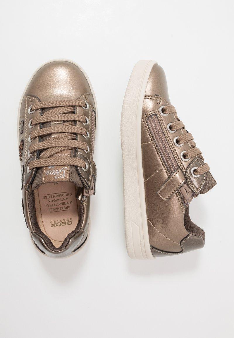 Geox - DJROCK GIRL - Sneakersy niskie - lead