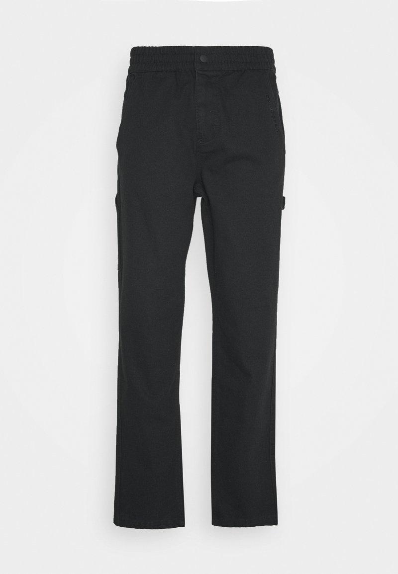Converse - EASY WAIST CARPENTER PANT - Trousers - black