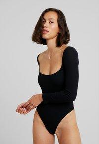 OW Intimates - BLANCHE BODYSUIT - Body - black caviar - 1