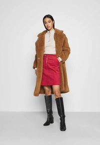 Glamorous - SKIRT - Mini skirt - burnt orange - 1