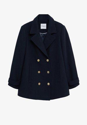 BOTON - Krátký kabát - námořnická modrá