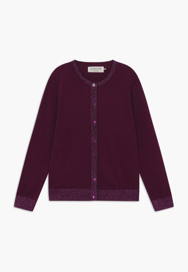 Strickjacke - purple