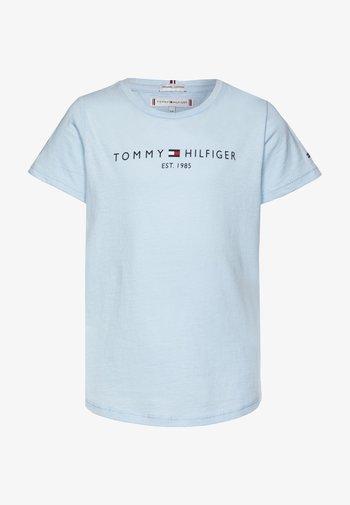 ESSENTIAL TEE  - T-shirt print - blue