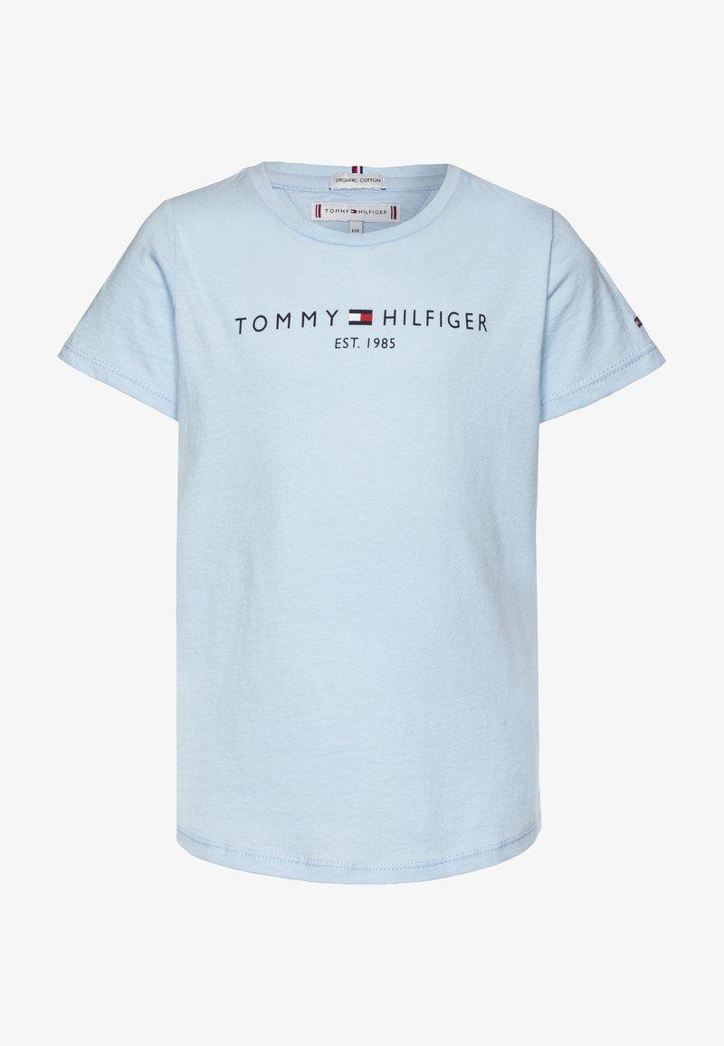 Tommy Hilfiger - ESSENTIAL TEE  - Print T-shirt - blue
