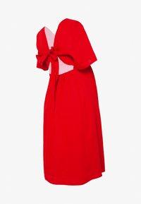 Paula Janz Maternity - DRESS CARIBBEAN NIGHT - Day dress - red marsala - 1