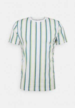 JORHURRY TEE CREW NECK - Print T-shirt - cloud dancer