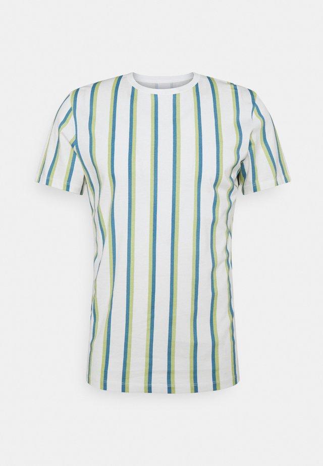 JORHURRY TEE CREW NECK - T-shirt print - cloud dancer