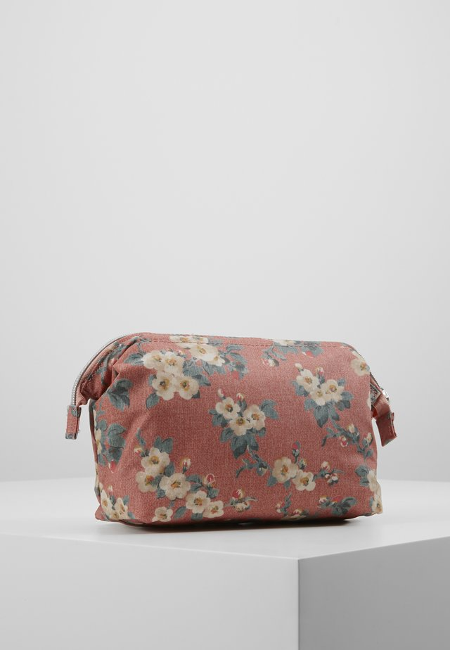 FRAME COSMETIC BAG - Wash bag - dusty pink
