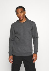 Only & Sons - ONSVINCENT CREW NECK - Sweatshirt - black - 0