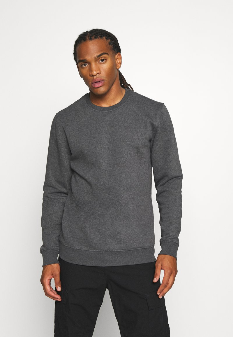 Only & Sons - ONSVINCENT CREW NECK - Sweatshirt - black