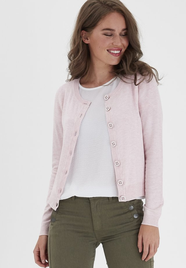 ZUVIC  - Strikjakke /Cardigans - english rose melange