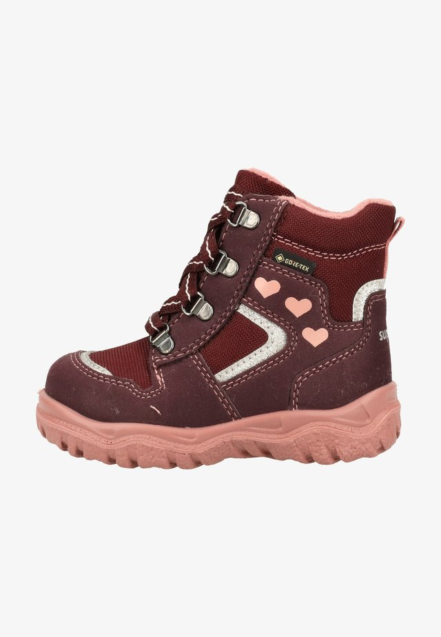 Winter boots - rot/rosa 5000