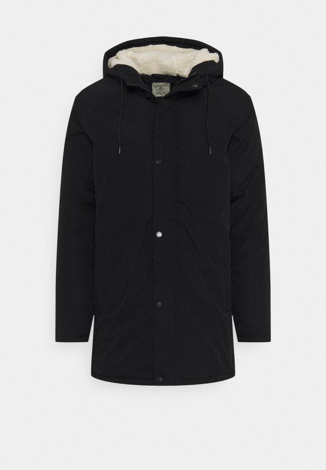 UTILITY - Zimní kabát - black