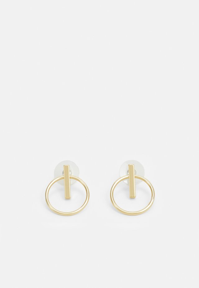 CARLO EAR PLAIN - Boucles d'oreilles - gold-coloured