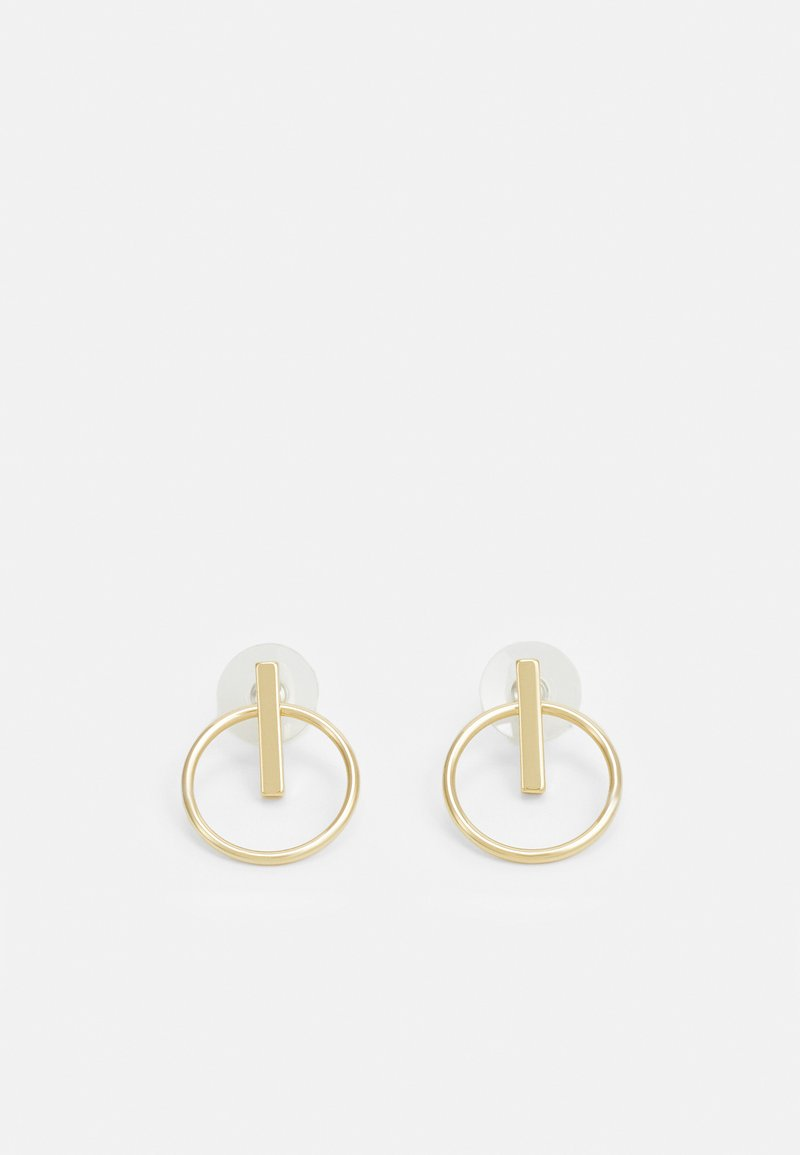 SNÖ of Sweden - CARLO EAR PLAIN - Earrings - gold-coloured