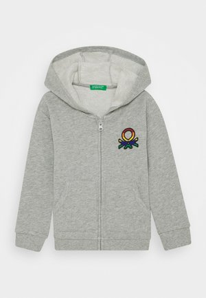 JACKET HOOD - veste en sweat zippée - grey