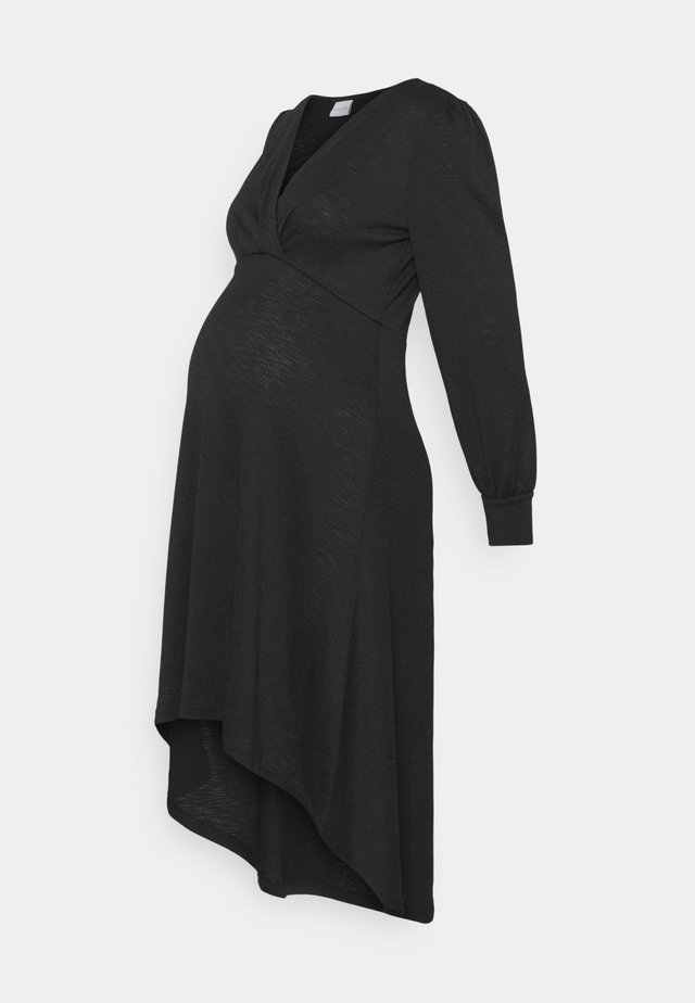 MLABELLA TESS DRESS - Trikoomekko - black