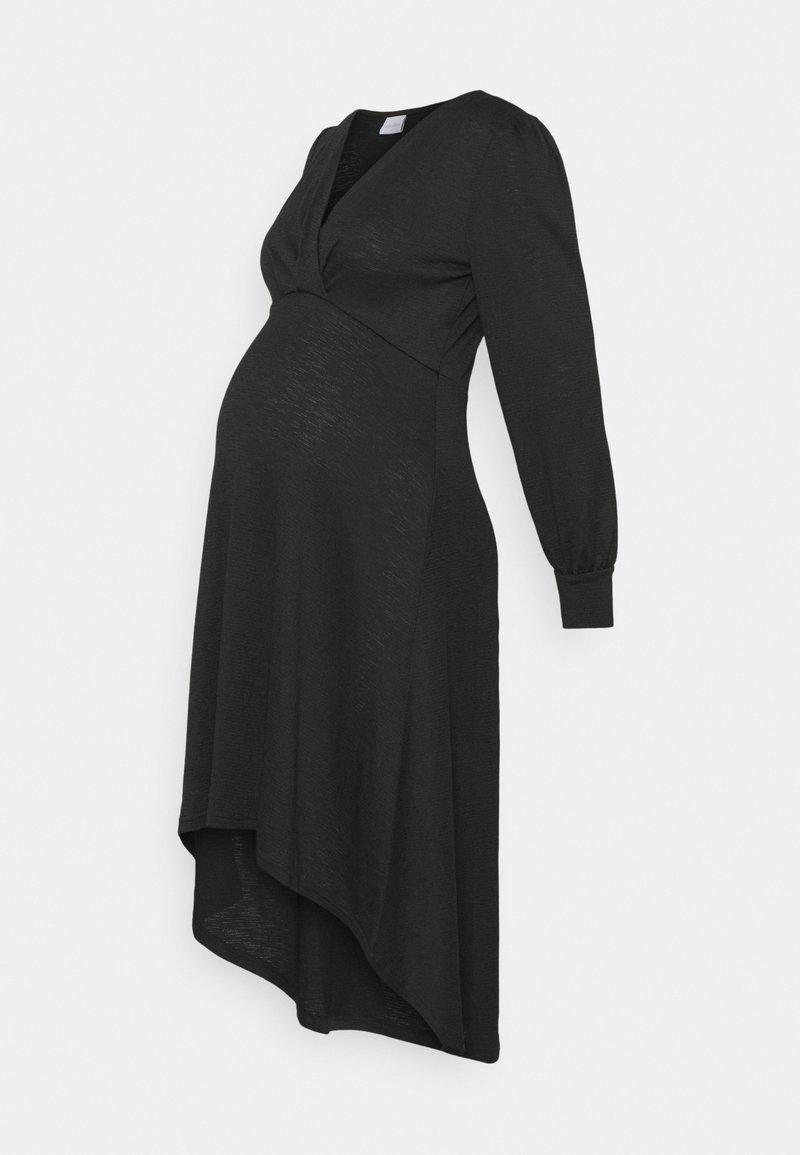 MAMALICIOUS - MLABELLA TESS DRESS - Trikoomekko - black