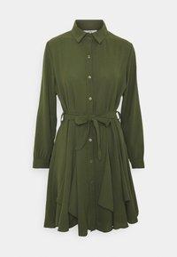 LAURY SHIRT DRESS - Shirt dress - khaki