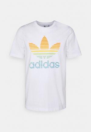 TREF OMBRE UNISEX - Camiseta estampada - white