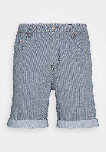 MR ORANGE STRIPE - Shorts - blue