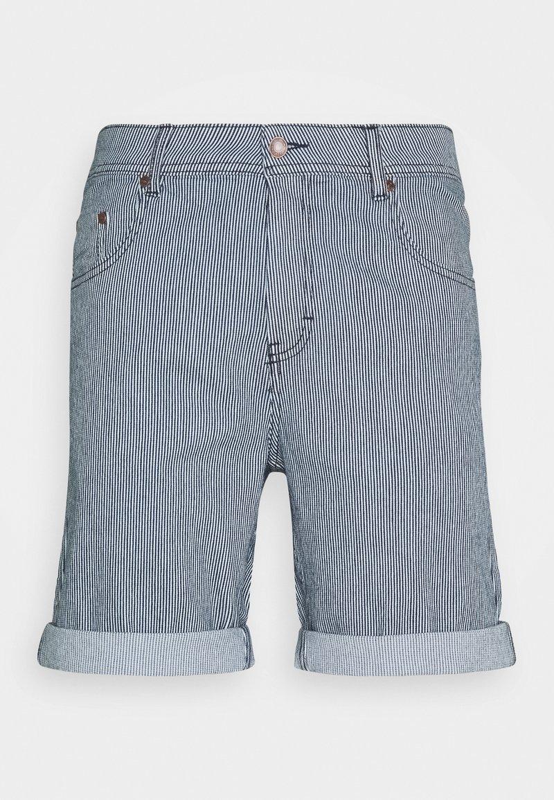 Denim Project - MR ORANGE STRIPE - Shorts - blue