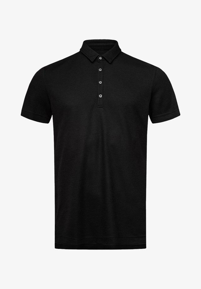 M PIQUET POLO - Polo shirt - black