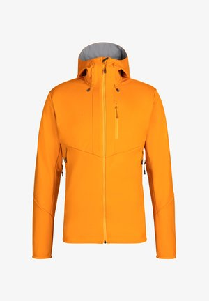 Soft shell jacket - orange